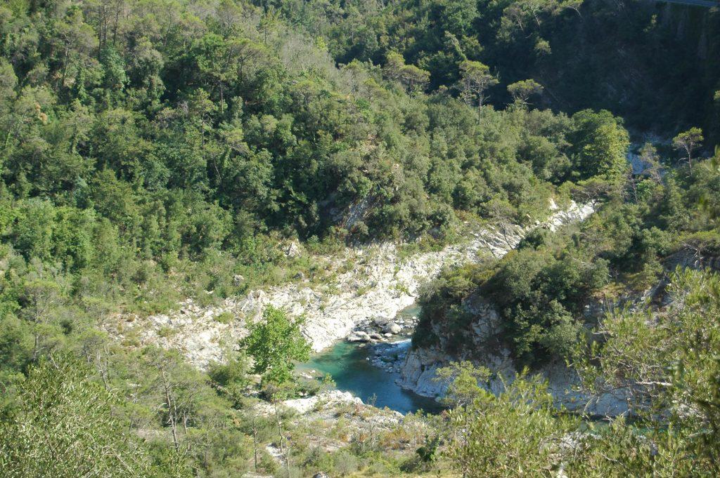 Fanghetto, Frazione di Olivetta San Michele (IM): il fiume Roia